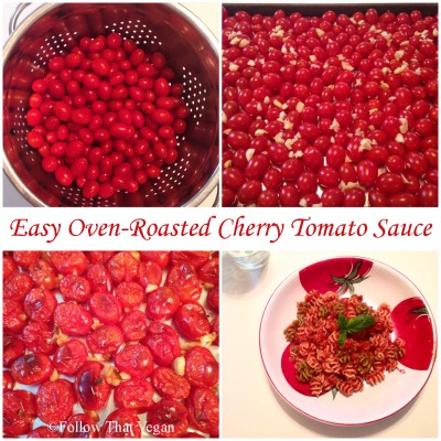 Easy Oven-Roasted Cherry Tomato Sauce