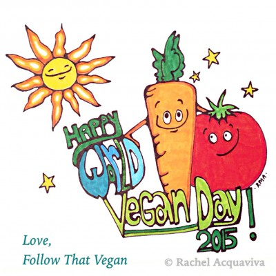 Happy World Vegan Day 2015I