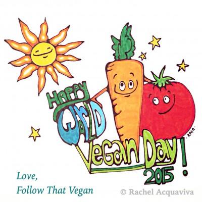 Happy World Vegan Day 2015I