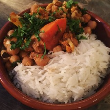 Chickpea and Vegetable Vindaloo