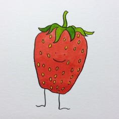 Jenny the strawberry